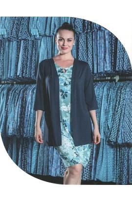 Casacca elegantissima con manica tre quarti viscosa naturale Patty Fashion Aertre 2088/60