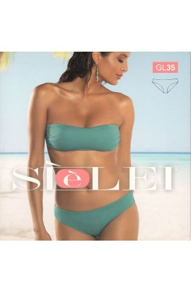 Bikini a fascia preformata con ferretto e slip fisso SièLei GL95