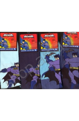 Calzettone per bambino Batman gamba lunga in caldo cotone invernale 129