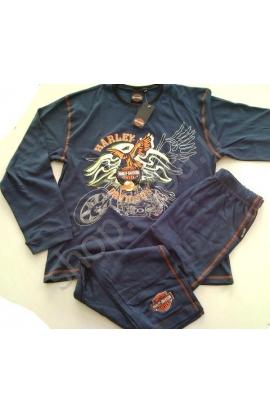 Pigiama Harley Davidson Motor Cycles HD842 100% cotone invernale