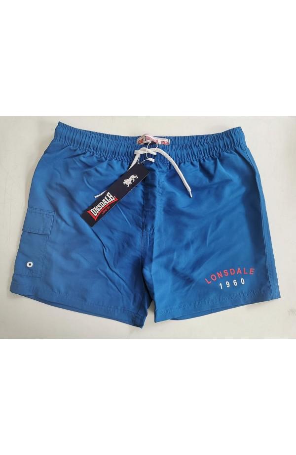 Costume a pantaloncino per uomo microfibra con tasca Lonsdale 20059
