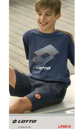 Pigiama corto per ragazzo 10 - 14 anni LOTTO cotone 100% LP8019