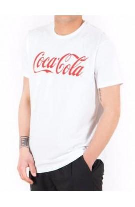 Maglia uomo Coca Cola original cotone 100% mezza manica