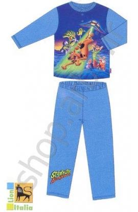 Pigiama bimbo Scooby Doo in cotone interlock 4/6 anni