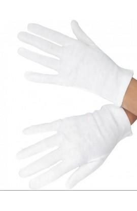 Guanto in puro cotone 100% per allergia dermatologica da contatto anti Covi-19