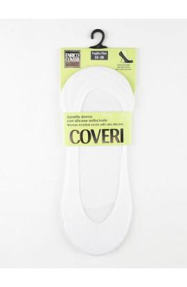 Soletta sanitaria invisibile per donna con bordo silicone antiscivolo e soletta ABS Coveri Mirella