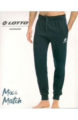 Pantalone tuta felpato per uomo puro cotone invernale Lotto LA1105