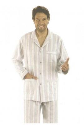 Pigiama classico in flanella caldo per uomo 100% cotone Diplomat WO609