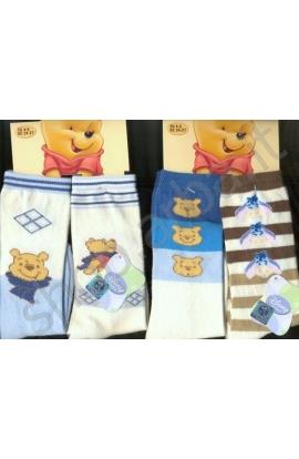 2 Calzettoni Baby Winnie the Pooh per neonato 2 paia