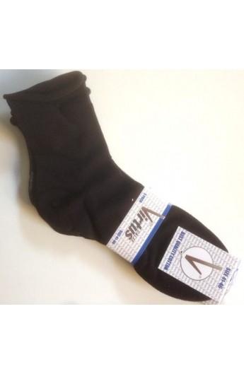 3 calze sanitarie uomo senza elastico, senza segni cotone leggero V810