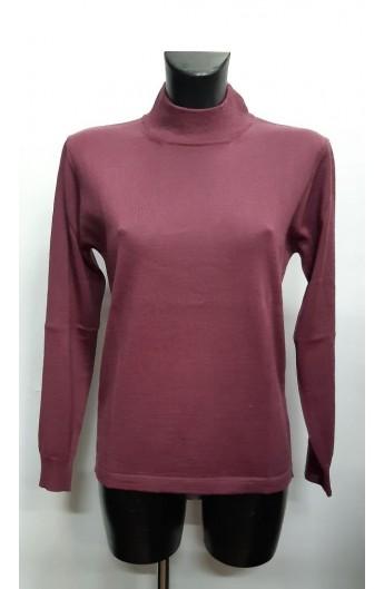 Lupetto donna classico lana Merinos 50% manica lunga Juice 518