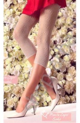 Leggings Capri in Pizzo moda primavera estate Franzoni Sake