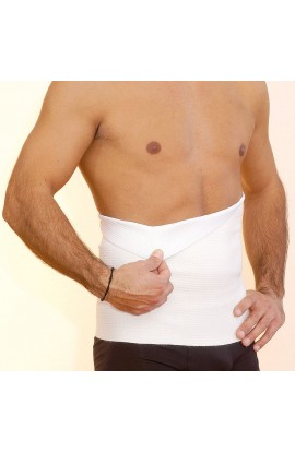 Pancera fascia elastica double interno cotone esterno lana Teratex BC