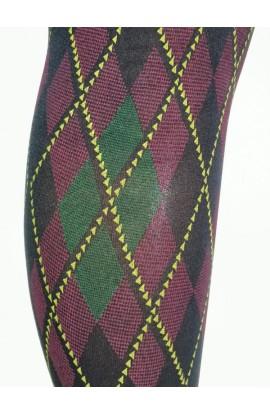 Collant scozzese pesante coprente microfibra Barlie Franzoni