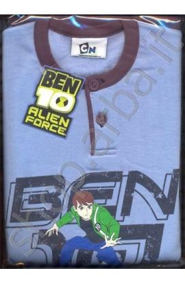 Pigiama Ben 10 Alien Force felpato cod. 14