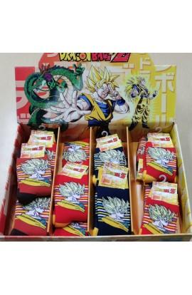 Calza Antiscivolo in cotone per bambino Dragon Super Goku