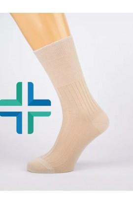 6 paia calza sanitaria corta estiva in Filo di Scozia senza elastico Nigra 201