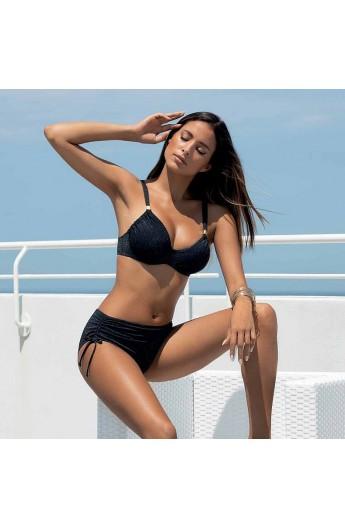 Bikini imbottito con ferretto spalline regolabili e slip alto SieLei LU82