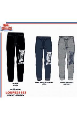 Pantalone tuta ragazzo leggero estivo puro cotone Lonsdale 21183