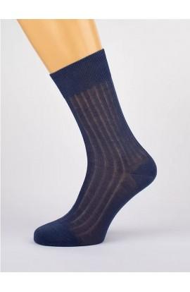 6 calze uomo 100% cotone Filo di Scozia gamba corta Mister 6 paia