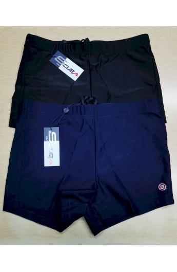 Costume da bagno a pantaloncino attillato uomo elasticizzato parigamba short con interno Scuba 27914