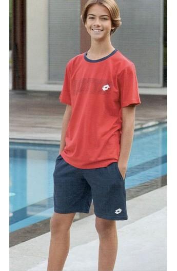 Completino estivo o pigiama corto per ragazzino da 10 a 16 anni Lotto 8031