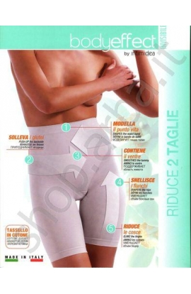 Guaina mezza gamba Body Effect invisibile riducente modellante contenitiva forte