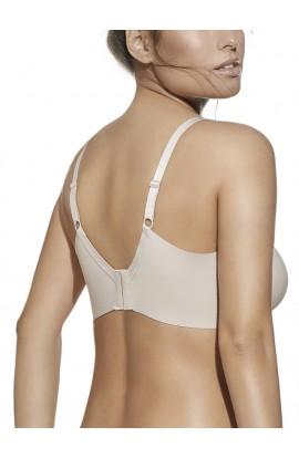 Reggiseno senza elastici, fascia alta con ferretto massima vestibilità coppa C Selene Eugenia