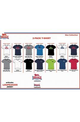 T-shirt uomo Lonsdale cotone 100% con stampa 20209