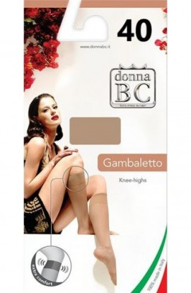 Gambaletto Comfort 40 riposante con elastico morbido sanitario non segna