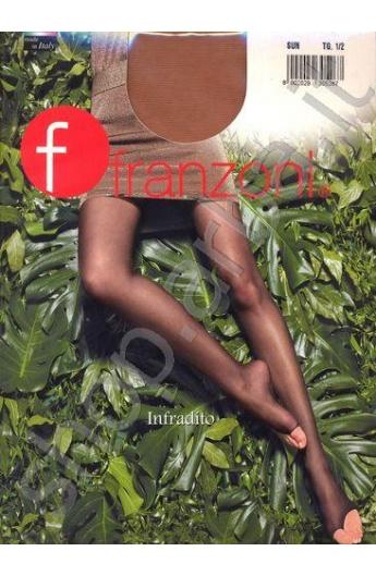 Collant Franzoni infradito elasticizzati 20 den trasparentissimo colore SUN