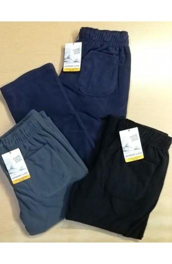 Pantalone in pile con tasche per uomo caldissimo isolante Stormy Life 41514