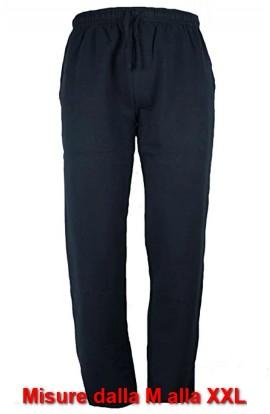Pantalone invernale da tuta in Felpa di cotone con vestibilità classica senza bordo Be Board 9036