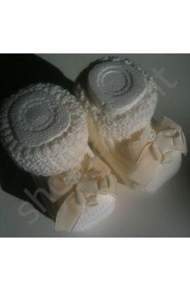 Scarpina neonato primi mesi Orsetto