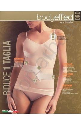 Canottiera modellante contenitiva riducente 1 taglia in meno Body Effect