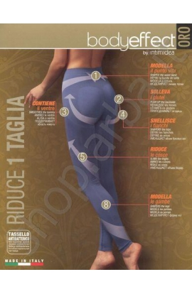 Legging push-up modellante contenitivo riducente Body Effect total shaper