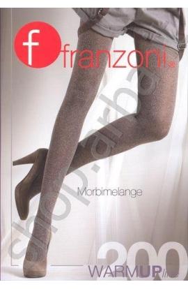 Collant microfibra melange 200 den coprente e calda Morbimelange Franzoni