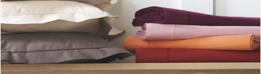 Biancheria per la casa, lenzuola, cuscini, federe e coperte